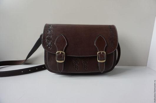 Сейчас есть готовая сумочка коричневого цвета.