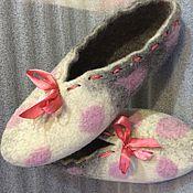 Обувь ручной работы handmade. Livemaster - original item Slippers Lady. Handmade.