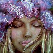 Картины и панно handmade. Livemaster - original item Pastel painting Spring. Handmade.