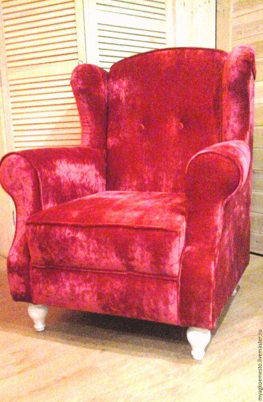 """Мебель ручной работы. Ярмарка Мастеров - ручная работа. Купить Кресло """"Классик"""" взрослое.. Handmade. Ярко-красный, французский стиль"""