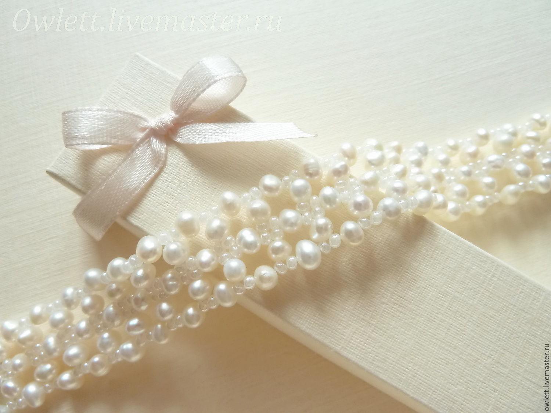 Ожерелье своими руками: плетение бусин из жемчуга 18