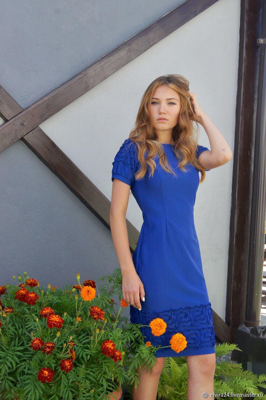 Knitted dress 'Tenderness', Dresses, Kaliningrad,  Фото №1