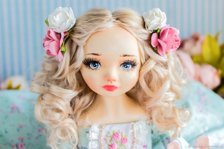 Принцесса Элен с другом авторская кукла, кукла подарок любимой, Будуарная кукла, Нижний Новгород,  Фото №1