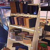 Материалы для творчества handmade. Livemaster - original item Shelf bookcase for exhibitions collapsible triangular. Handmade.
