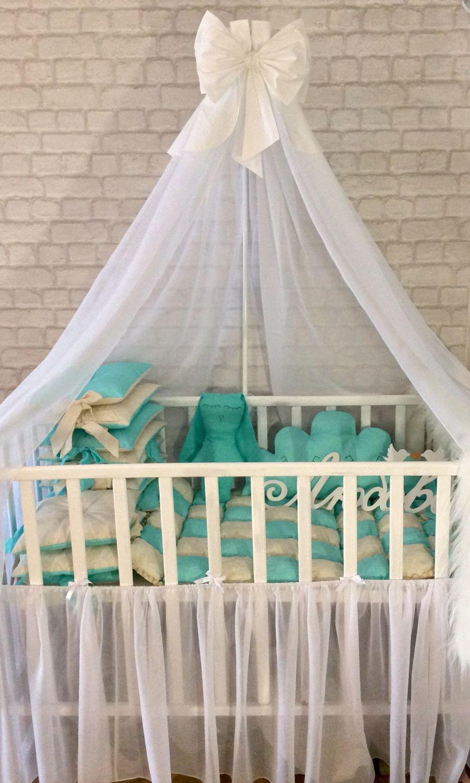 Как прикрепить балдахин для детской кроватки своими руками