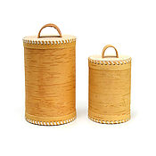Посуда handmade. Livemaster - original item Set of 2 pieces of pure / without drawing. For food storage. Handmade.