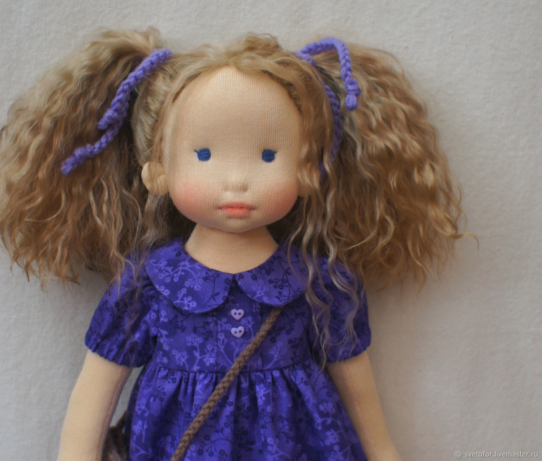 Вальдорфская кукла для Анны, 43 см ООАК, Вальдорфские куклы и звери, Пермь,  Фото №1