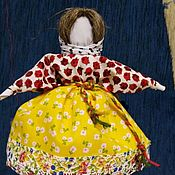 Народная кукла ручной работы. Ярмарка Мастеров - ручная работа Обережная кукла Колокольчик. Handmade.