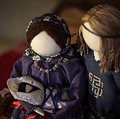 """Куклы и игрушки ручной работы. Ярмарка Мастеров - ручная работа Авторские куклы-обереги """"Семья"""". Handmade."""