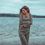 Одежда ручной работы. Ярмарка Мастеров - ручная работа Платье Agava oversize. Handmade.