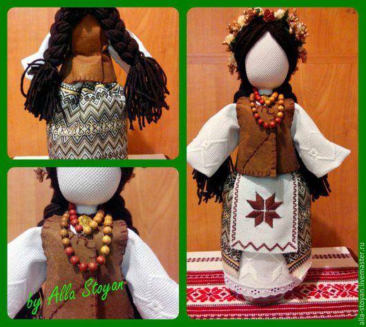 Народные куклы ручной работы. Ярмарка Мастеров - ручная работа. Купить Урожайница. Handmade. Кукла мотанка, кукла интерьерная, урожай