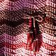 """Женские сумки ручной работы. Сумка вязаная """"Ягодный сезон"""". Елена Брикуля (Umelitsa). Ярмарка Мастеров. Летняя сумка, Плащёвка"""