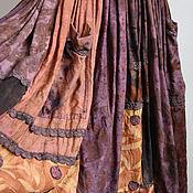 """Одежда ручной работы. Ярмарка Мастеров - ручная работа Платье """"Autumn Swirl"""". Handmade."""