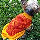 Одежда для собак, ручной работы. Заказать Платье для собаки. Юлия (Yutta). Ярмарка Мастеров. Йоркширский терьер, чихуахуа