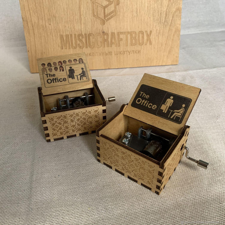 Music box The Office (Office), Musical souvenirs, Krasnodar,  Фото №1