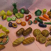 Куклы и игрушки ручной работы. Ярмарка Мастеров - ручная работа Миниатюрные продукты для кукольного дома. Handmade.
