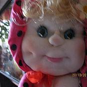 Куклы и игрушки ручной работы. Ярмарка Мастеров - ручная работа кукла пакетница. Handmade.