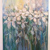 """Картины ручной работы. Ярмарка Мастеров - ручная работа """"Весенние цветы"""" """"Цветы яблони"""". Handmade."""