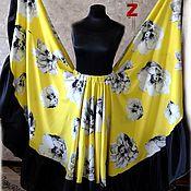Одежда ручной работы. Ярмарка Мастеров - ручная работа Цыганская юбка Желтые цветы. Handmade.