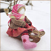 Куклы и игрушки ручной работы. Ярмарка Мастеров - ручная работа Екатерина-санница. Именинница.. Handmade.