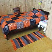 Для дома и интерьера handmade. Livemaster - original item Knitted blanket