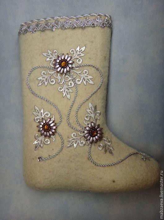 Обувь ручной работы. Ярмарка Мастеров - ручная работа. Купить Валенки с дизайнерской отделкой. Handmade. Валенки дизайнерские, валенки женские
