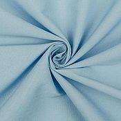 Материалы для творчества ручной работы. Ярмарка Мастеров - ручная работа Хлопок-поплин c эластаном MARNI  голубой. Handmade.
