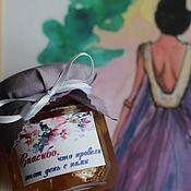 Свадебный салон ручной работы. Ярмарка Мастеров - ручная работа Акварель-бонбоньерка. Handmade.