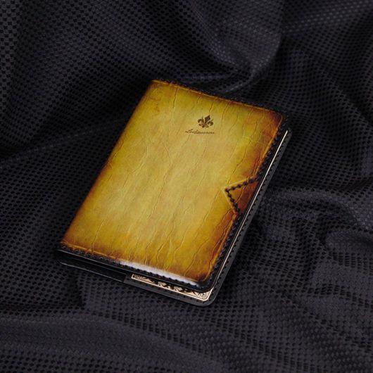 Ежедневники ручной работы. Ярмарка Мастеров - ручная работа. Купить Ежедневник из кожи ручной работы №46. Handmade. Кожа натуральная