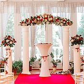 Цветы и флористика ручной работы. Ярмарка Мастеров - ручная работа Оформление свадьбы и выездная регистрация. Handmade.