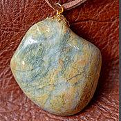 Украшения handmade. Livemaster - original item CANDY. Greenstone pendant. Handmade.
