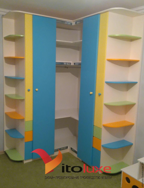 Угловой шкаф в детскую комнату - купить в интернет-магазине .