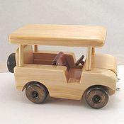 Куклы и игрушки ручной работы. Ярмарка Мастеров - ручная работа Крытый Джип. Handmade.