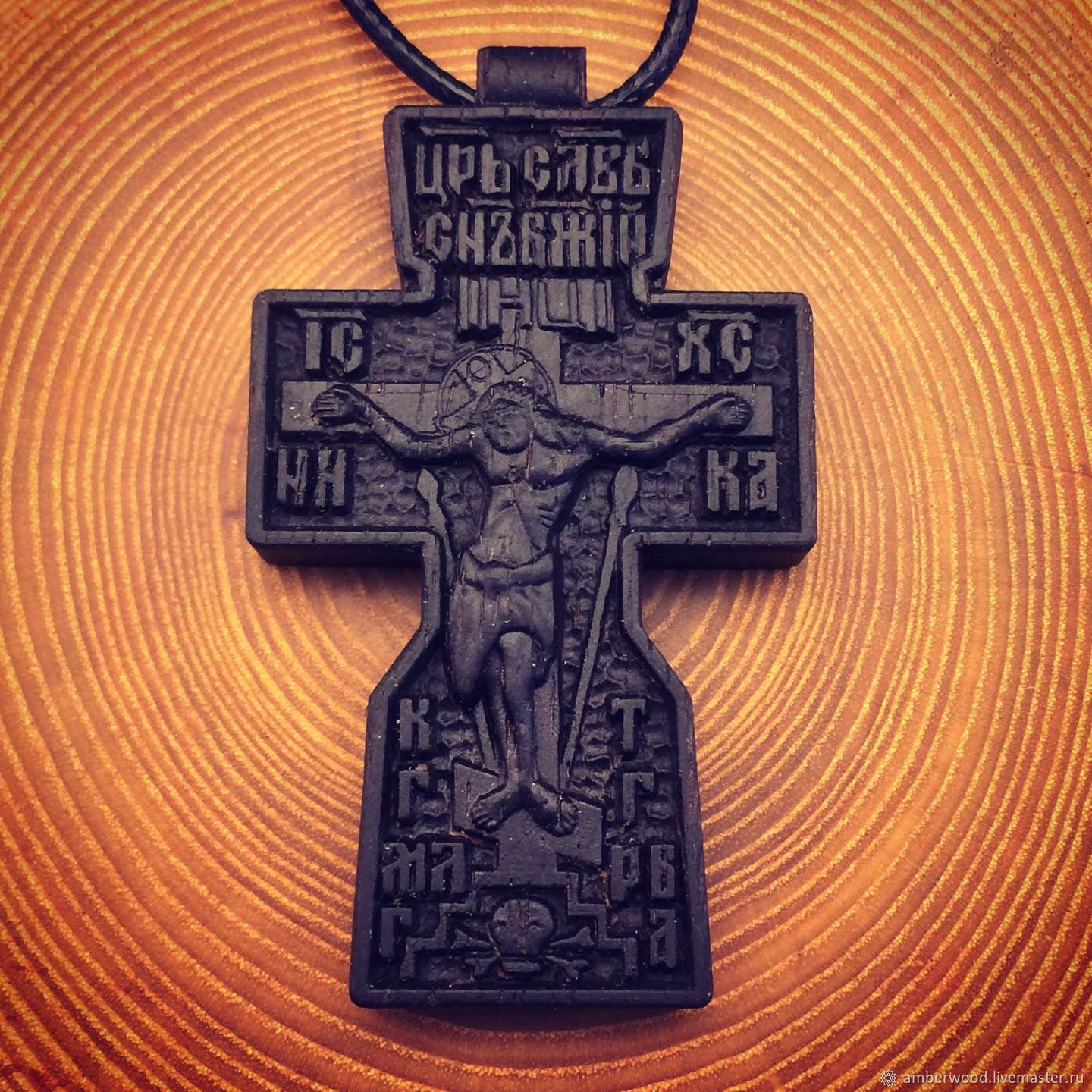 Cross carved from Rosewood, Cross, Kaliningrad,  Фото №1
