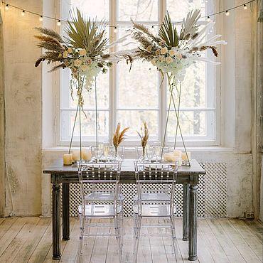 Свадебный салон ручной работы. Ярмарка Мастеров - ручная работа Декор гостевого стола. Handmade.