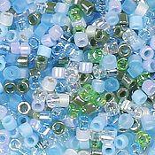 Материалы для творчества handmade. Livemaster - original item 5g 11/0 Delica MIX 08 Serenity Miyuki Japanese beads. Handmade.
