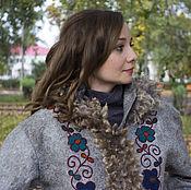 "Одежда handmade. Livemaster - original item Felted jacket ""Wind of wanderings"". Handmade."