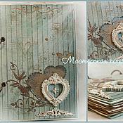 """Свадебный салон ручной работы. Ярмарка Мастеров - ручная работа Свадебная книга пожеланий """"Нежность"""". Handmade."""