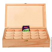 Материалы для творчества handmade. Livemaster - original item 39259P20 blank box under the decoupage 39 25 9 SMOD tea. Handmade.
