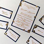 Открытки ручной работы. Ярмарка Мастеров - ручная работа приглашение на свадьбу. Handmade.