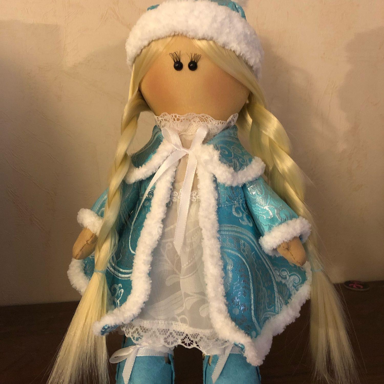 Кукла Снегурочка, Куклы Тильда, Владимир,  Фото №1
