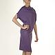 платье сиреневое платье из вискозы платье красивое платье с поясом платья больших размеров платье макси платье свободное