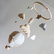 """Для дома и интерьера ручной работы. Ярмарка Мастеров - ручная работа Мобиль в кроватку """"Let`s fly!"""". Handmade."""