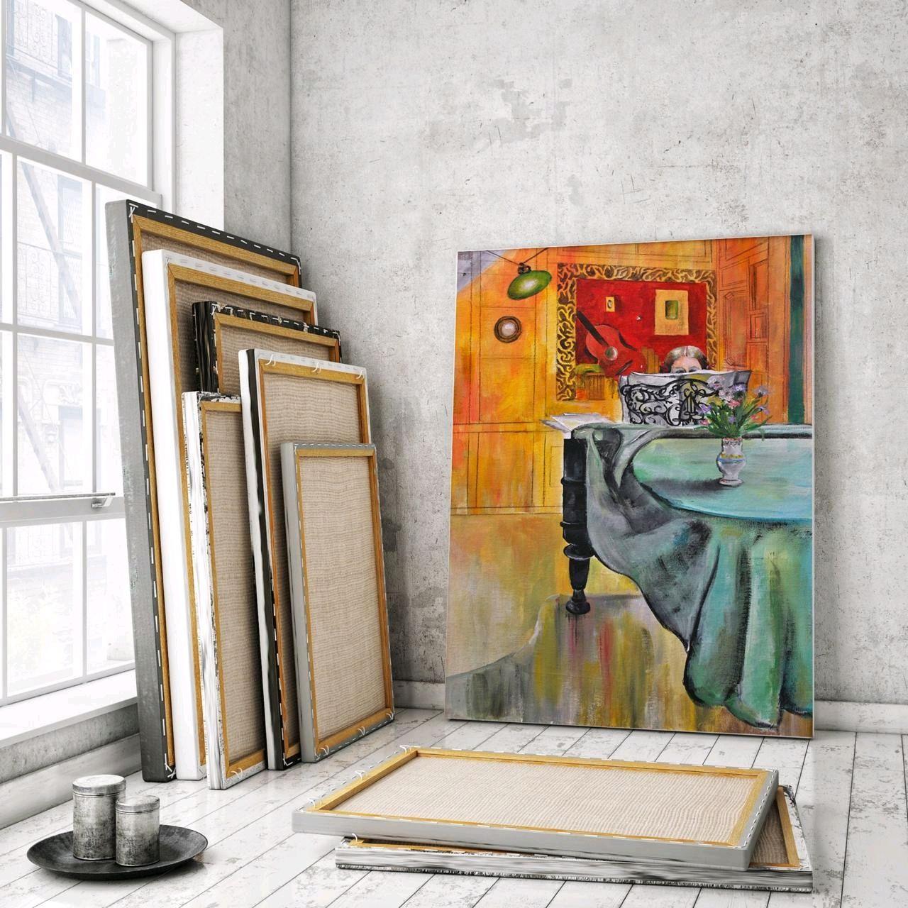 Копия картины шведского художника, Картины, Москва,  Фото №1