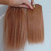 Волосы для кукол ручной работы. Ярмарка Мастеров - ручная работа Human hair. 100% человеческие волосы на трессах. Handmade.