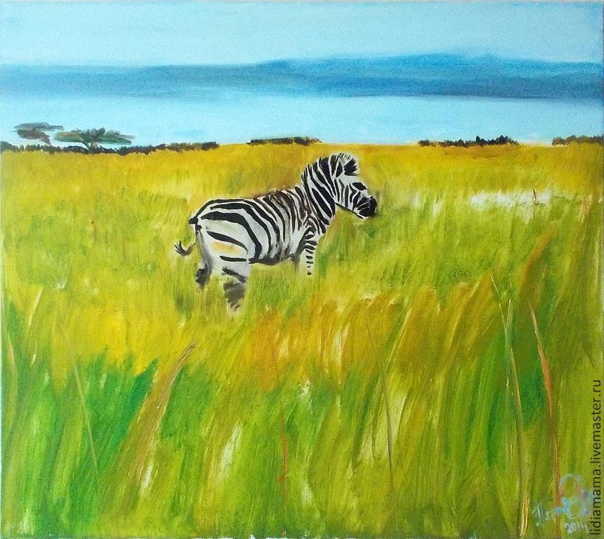 Memories of South Africa. Zebra