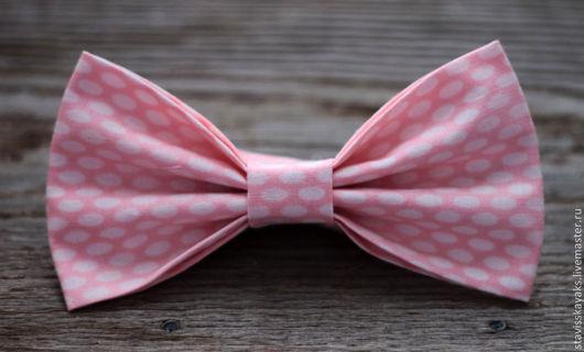 Галстуки, бабочки ручной работы. Ярмарка Мастеров - ручная работа. Купить Галстук-бабочка. Handmade. Розовый, орнамент, галстук-бабочка