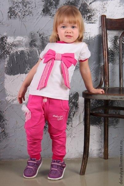 Одежда для девочек, ручной работы. Ярмарка Мастеров - ручная работа. Купить Костюм спортивный Glamour Sport для девочки  от Delaviya. Handmade.