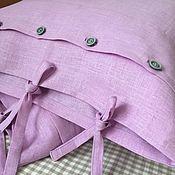 Для дома и интерьера handmade. Livemaster - original item Linen pillowcase