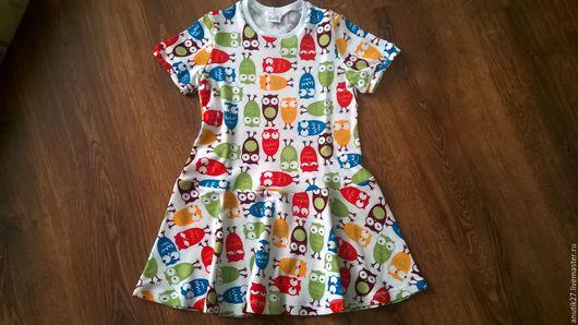 Одежда для девочек, ручной работы. Ярмарка Мастеров - ручная работа. Купить Повседневные платья в ассортименте. Handmade. Комбинированный, детская одежда